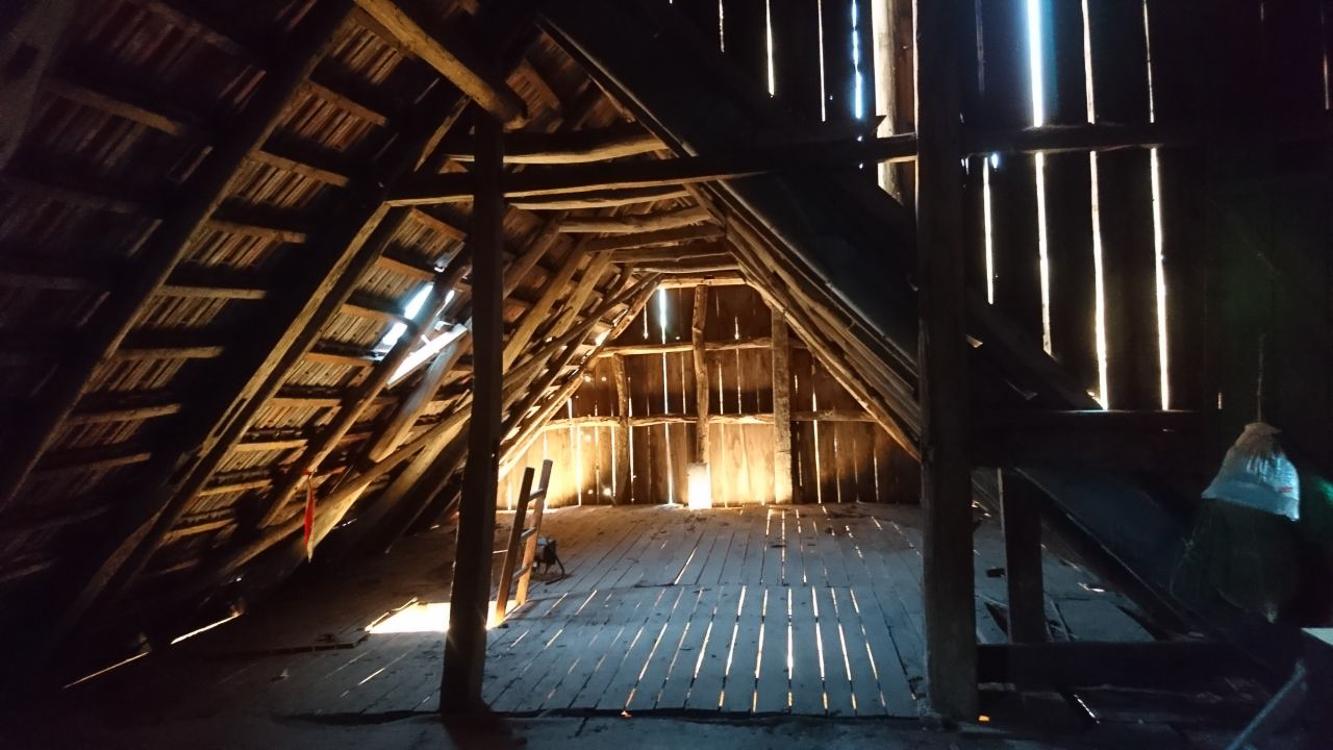 Dachboden von Haus 2