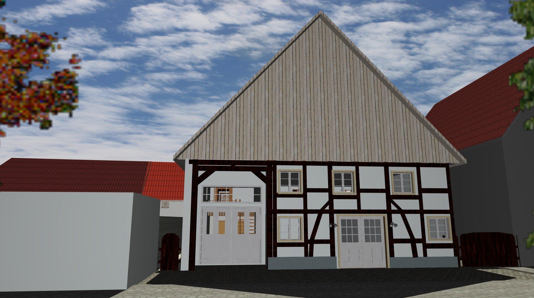 Fassade Haus 1