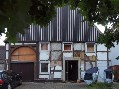 Marode Fassade Haus 1 (2015)