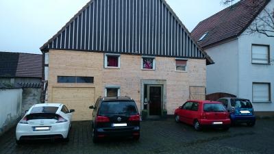 Haus 1 mit Wetterschutz (2015)