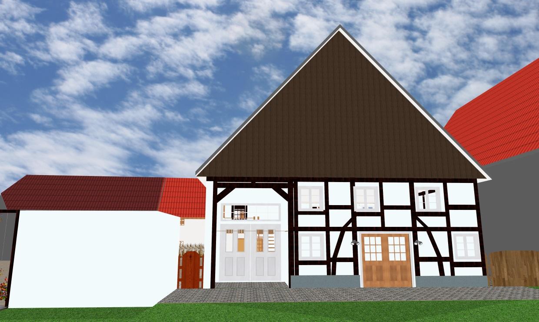 So ähnlich wird irgendwann die Fassade von Fassbachs aussehen